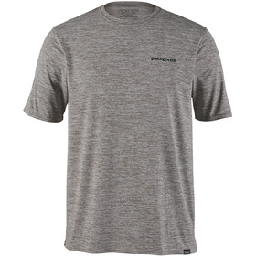Patagonia Cap Cool Daily Graphic T-shirt Herre p-6 logo/feather grey